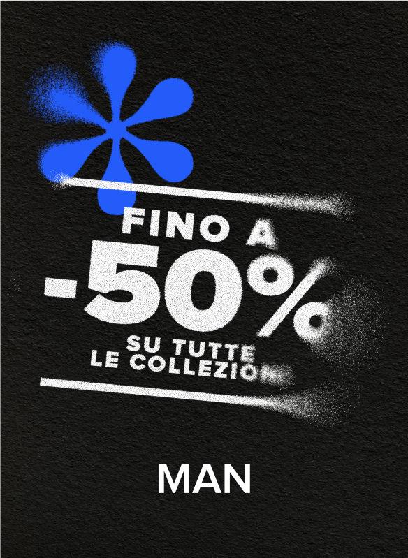 50% OFF COLLEZIONE 2020 UOMO