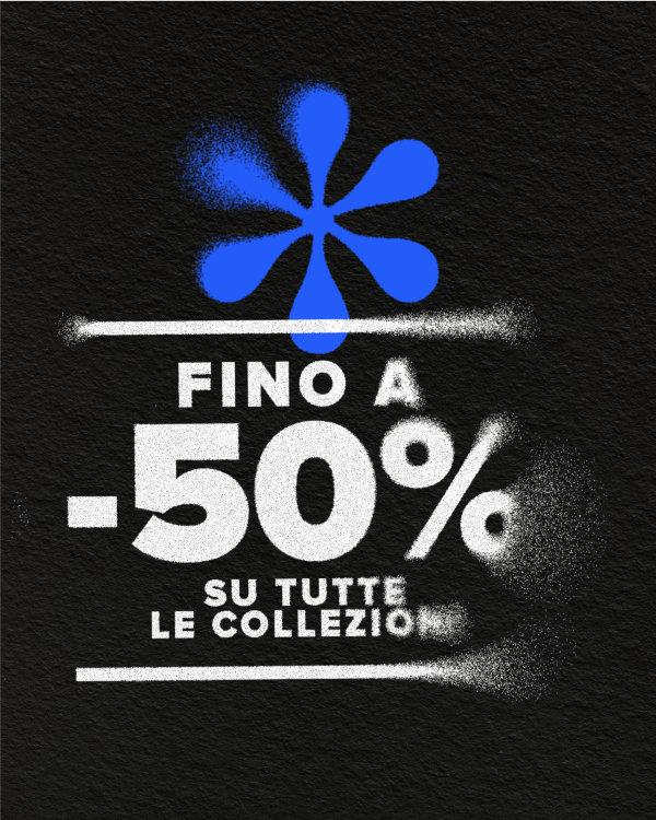 50% OFF COLLEZIONE P/E