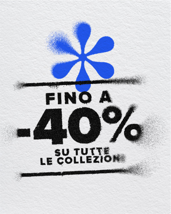 40% OFF COLLEZIONE P/E