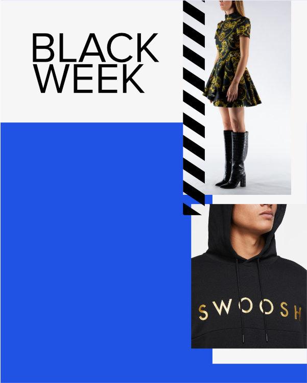 Black Week: 20% OFF su brand selezionati