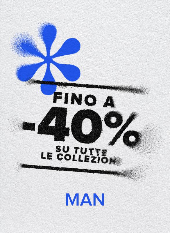 40% OFF COLLEZIONE 2020 UOMO