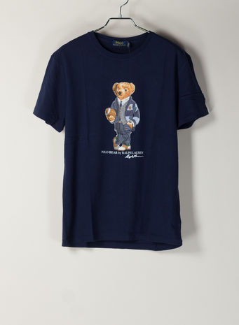 T-SHIRT STAMPA  BEAR, CRUISENAVY, small