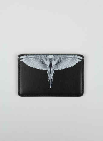 PORTACARTE WINGS CONTINENTAL WALLET, 1001BLACKWHITE, small