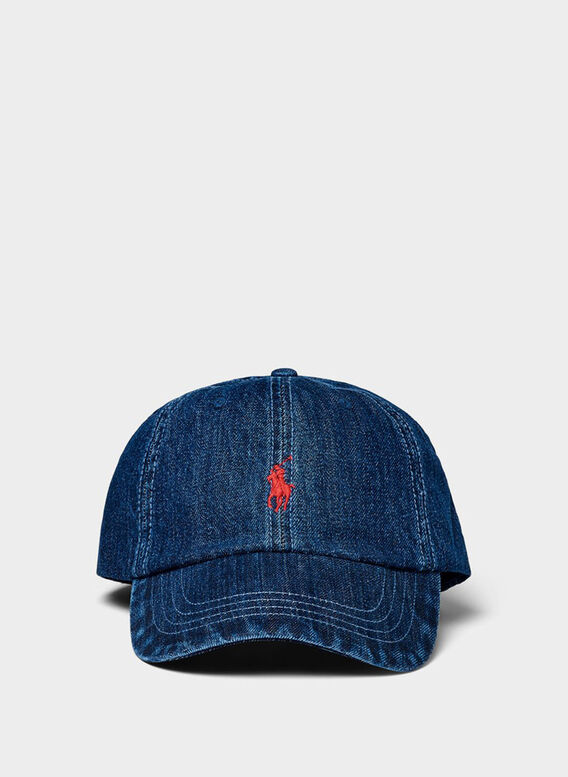 CAPPELLO CLASSIC SPORT, DARKWASHDENIMWRED, medium