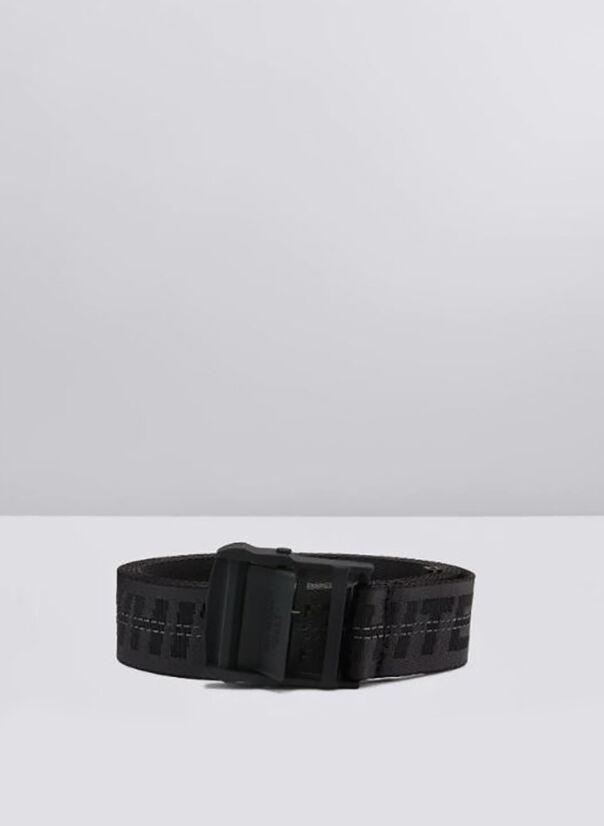 CINTURA CLASSIC INDUSTRIAL BELT, 1010BLACKBLACK, large