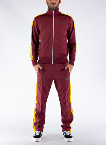 FELPA COLLEGE TRACK JACKET, 2870BURGUNDY, small