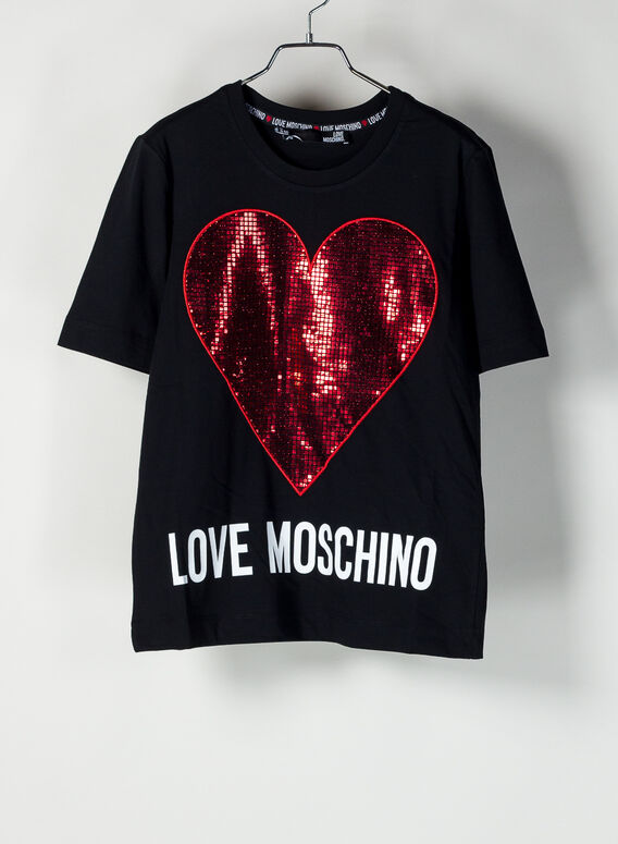 T-SHIRT LOVE MOSCHINO, 4049, medium