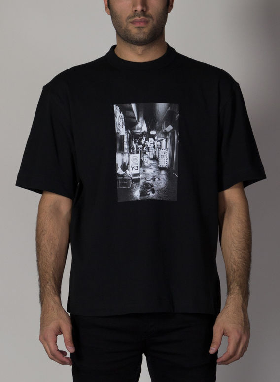 T-SHIRT SKATE GRAPHIC, BLACK, medium