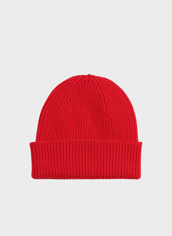 CAPPELLO MERINO WOOL, SCARLETRED, large