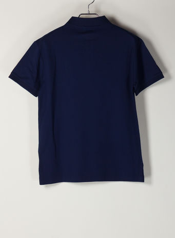 POLO A MANICHE CORTE, FRENCHNAVY, small