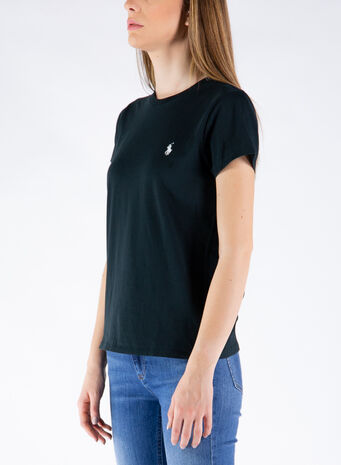 T-SHIRT BASIC LOGO, 003POLOBLACK, small