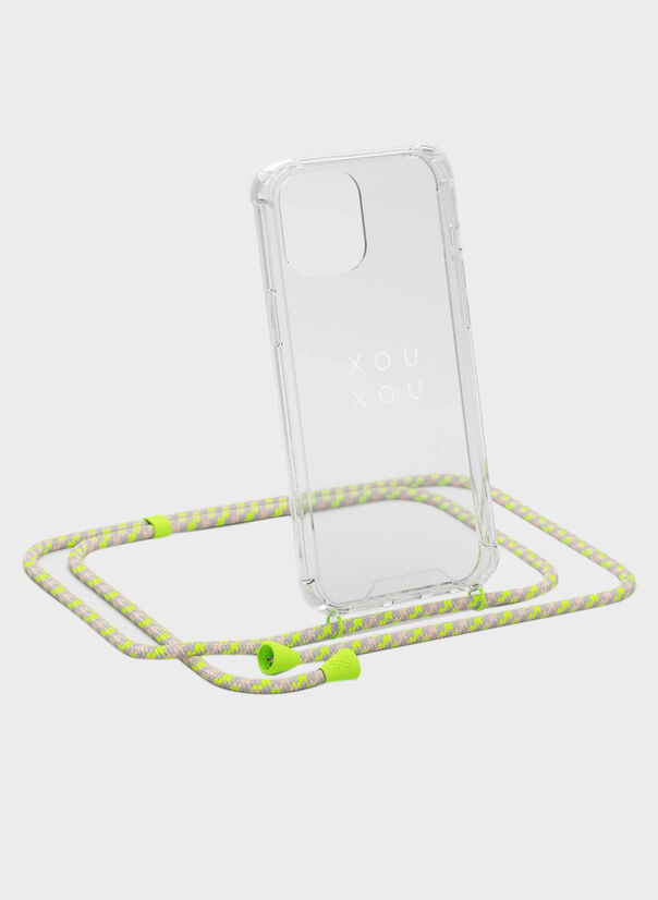 COVER + COLLANA IPHONE 12/12PRO, 386NEONCAMU, large