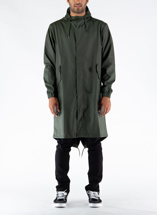 GIUBBOTTO FISHTAIL PARKA, GREEN, large