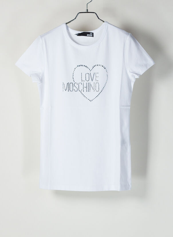 T-SHIRT LOVE MOSCHINO, A00, large