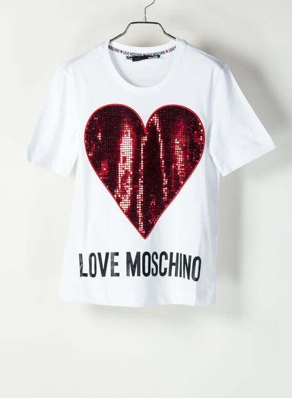 T-SHIRT LOVE MOSCHINO, 4051, medium