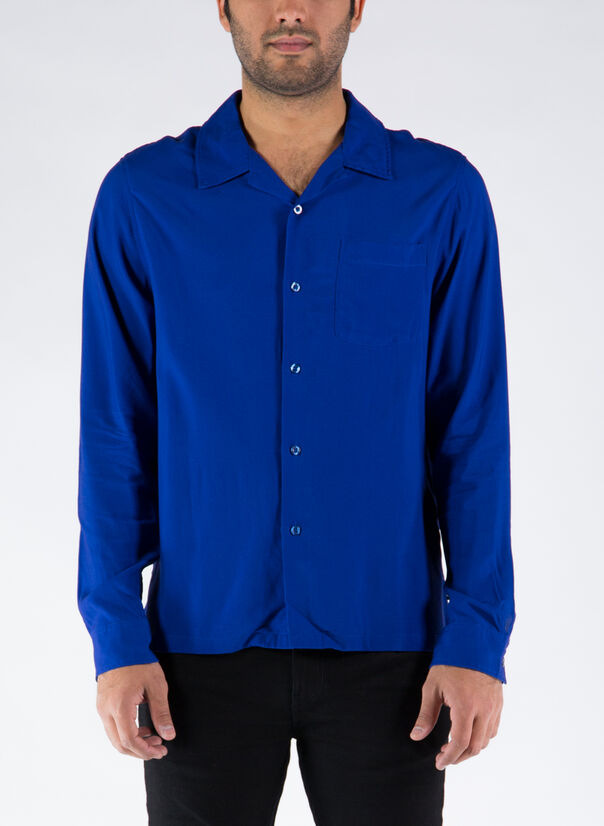 CAMICIA BIG POPPY, BLUE, large