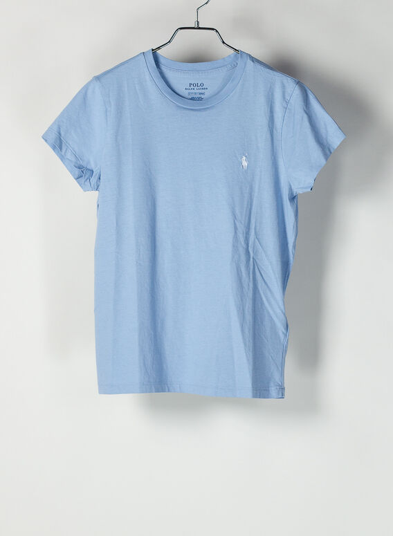 T-SHIRT GIROCOLLO, ESTATEBLUE, medium