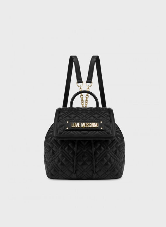 ZAINO NEW SHINY QUILTED, 000NERO, medium