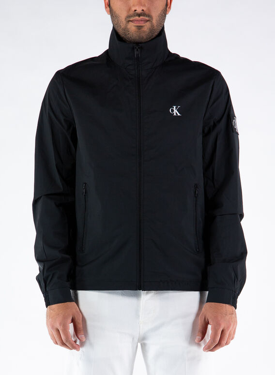 GIACCA NYLON HARRINGTON, BEH/CKBLACK, medium