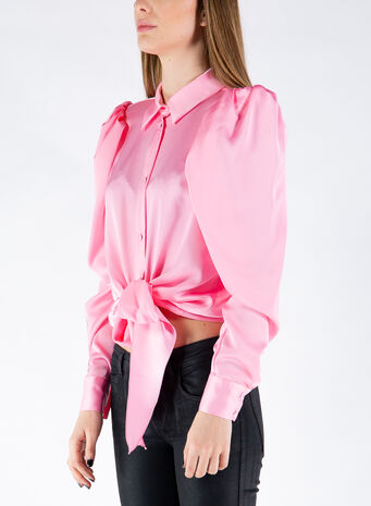 CAMICIA THE BOW, PINK, small
