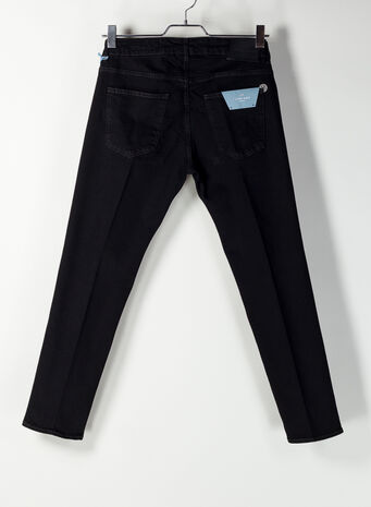 JEANS 5T DENIM CORTO, 2021DENIMNERO, small