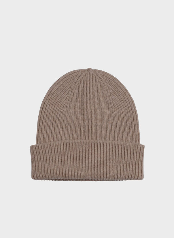 CAPPELLO MERINO WOOL, WARMTAUPE, large