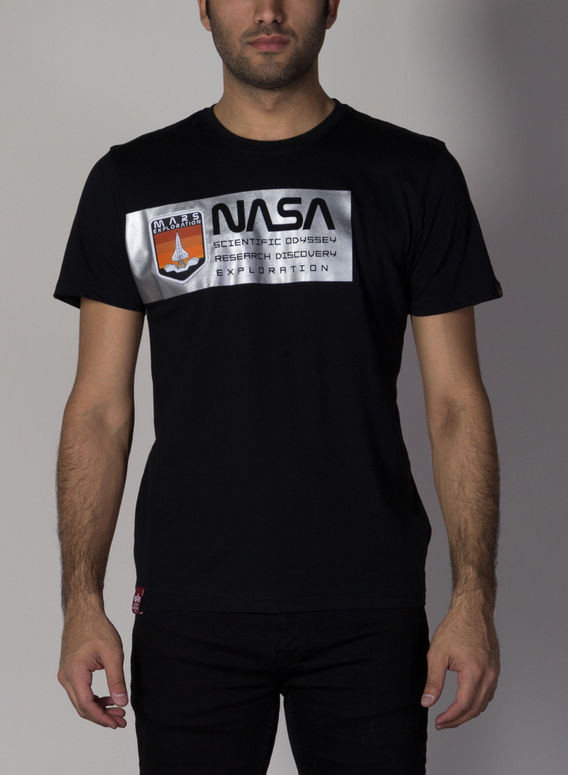 T-SHIRT MARS REFLECTIVE, 03BLACK, medium