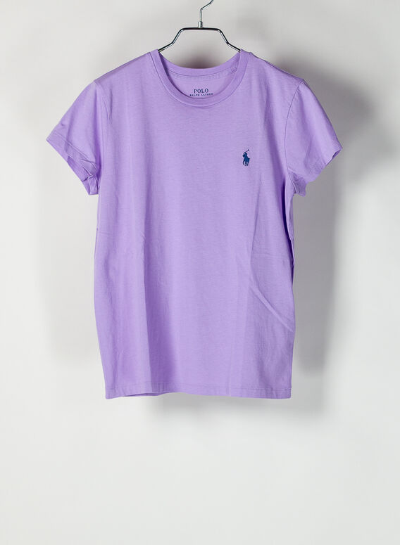 T-SHIRT GIROCOLLO, ENGLISHLAVENDER, medium