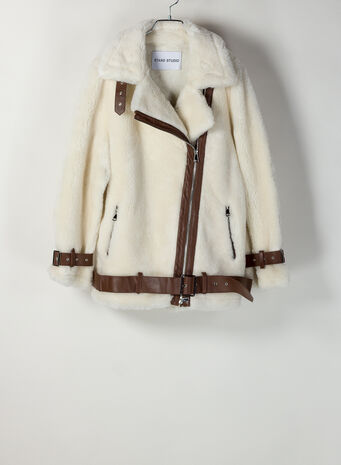 GIACCA COLLEEN, 96000OFFWHITEBROWN, small