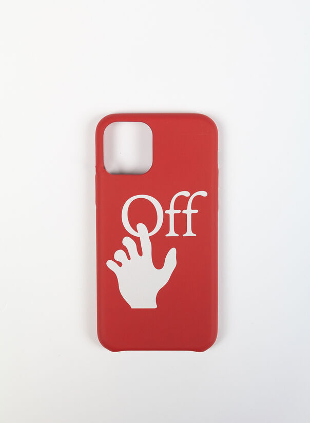 COVER HAND OFF IPHONE 11 PRO, RED/WHITE, large