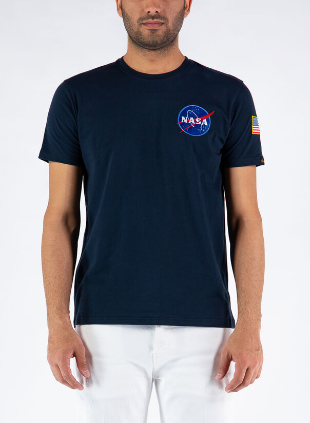 T-SHIRT SPACE SHUTTLE, 07REPLBLUE, large