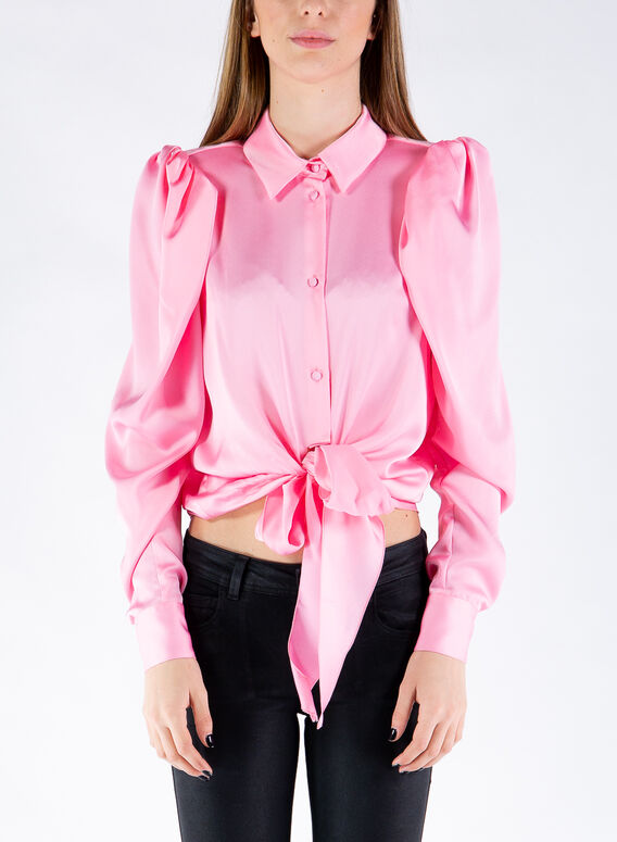 CAMICIA THE BOW, PINK, medium