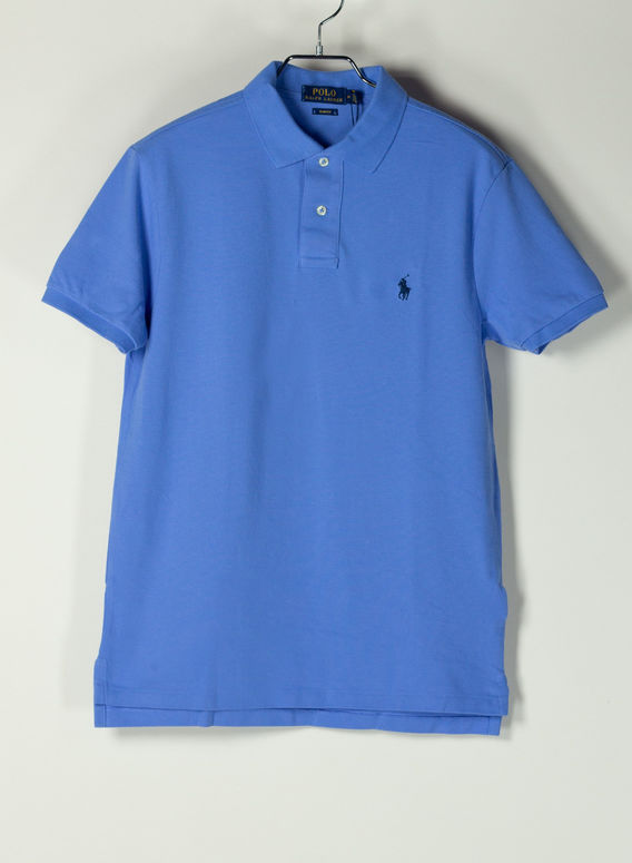 POLO A MANICHE CORTE, HARBORISLANDBLUEC799, medium