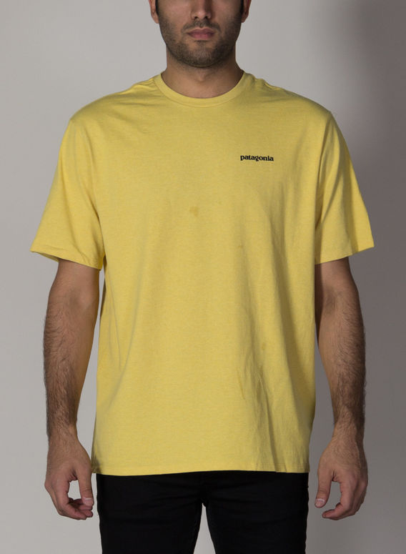 T-SHIRT P-6 LOGO RESPONSIBILI, SUYE/SURFBOARDYELLOW, medium