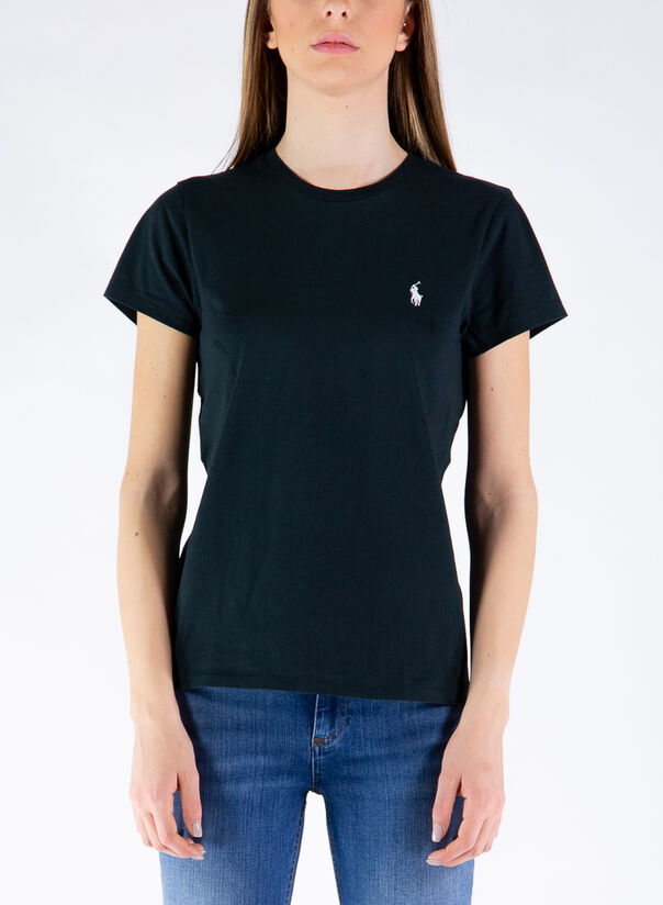 T-SHIRT BASIC LOGO, 003POLOBLACK, large
