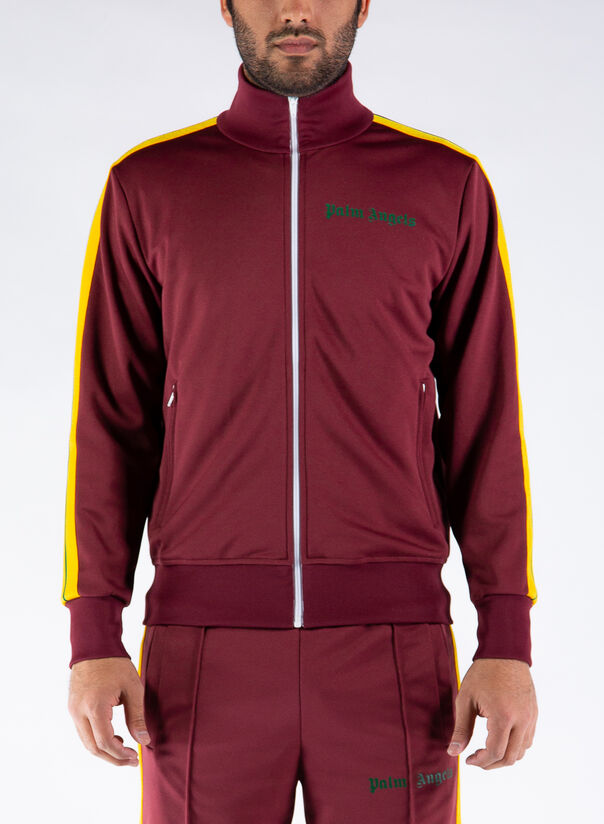FELPA COLLEGE TRACK JACKET, 2870BURGUNDY, large