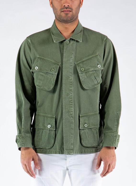 GIACCA JUNGLE JACKET, GREEN, medium