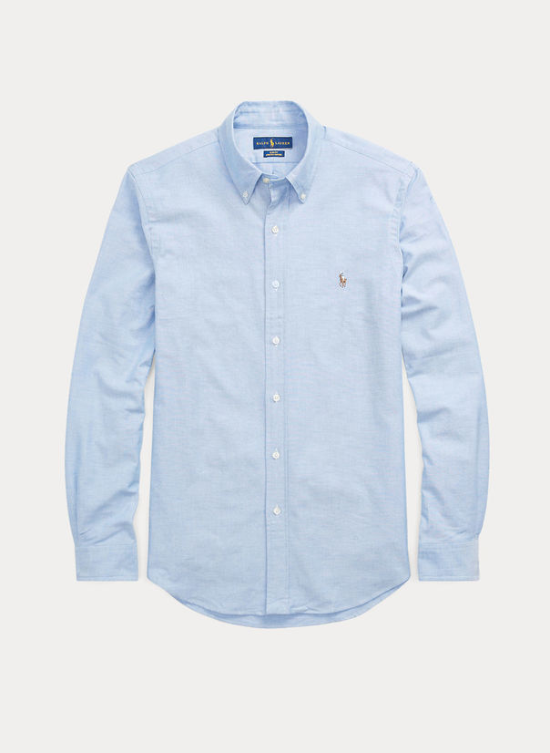 CAMICIA OXFORD, BSRBLUE, large