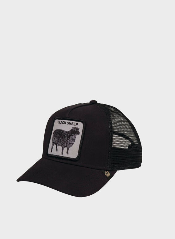 CAPPELLO BLACK SHEEP, BLACK, medium