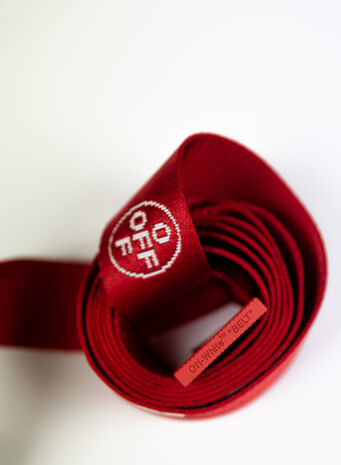 CINTURA 2.0 INDUSTRIAL BELT, RED/WHITE, small