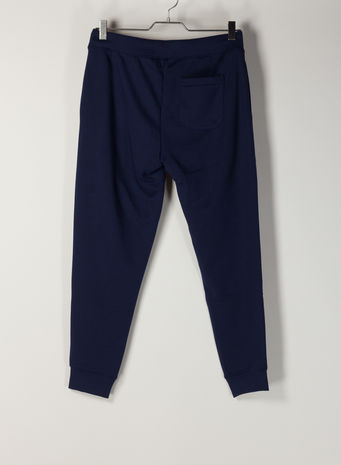 PANTALONE POLO SPORT IN FELPA, CRUISENAVY, small