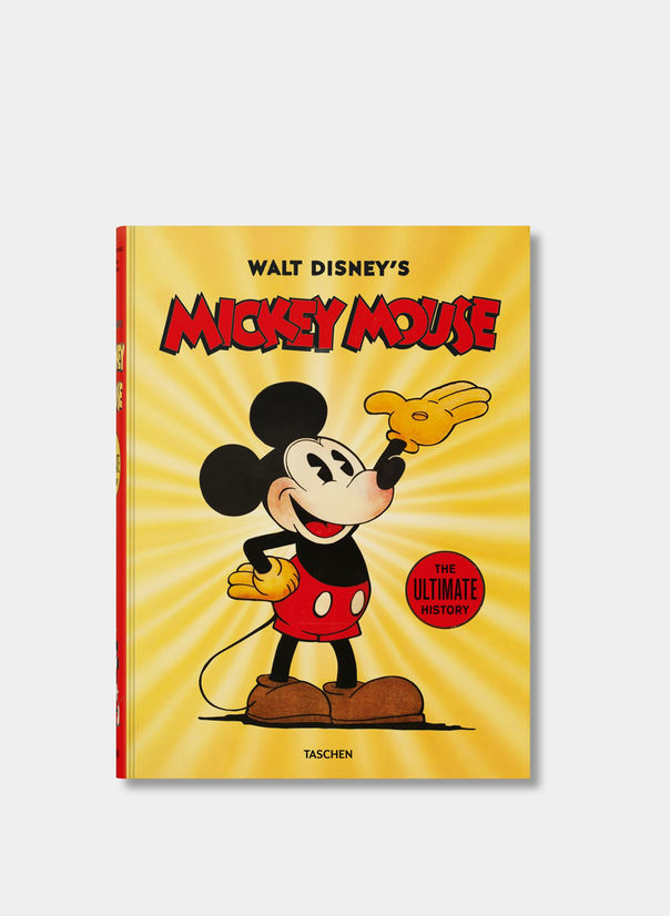 LIBRO MICKEY MOUSE,THE ULTIMATE HISTORY, WHITE, large