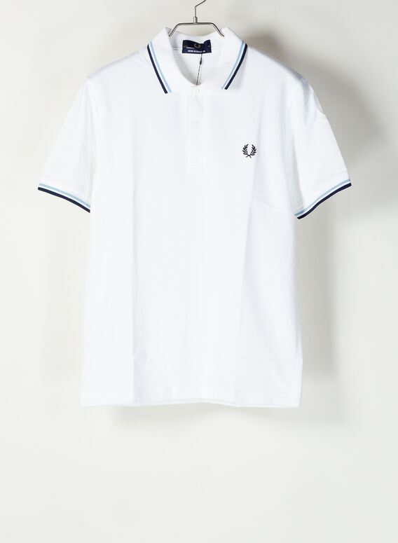 POLO TWIN TIPPED, 300WHITE, medium