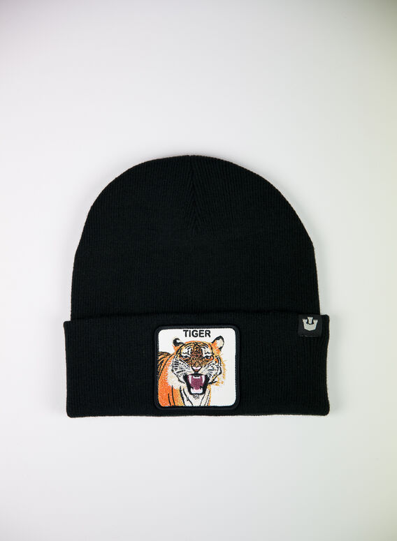 CAPPELLO TIGER MOUTH, BLK, medium
