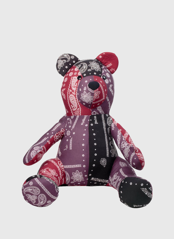 BEAR PUPPET, MULTICOLOR, large