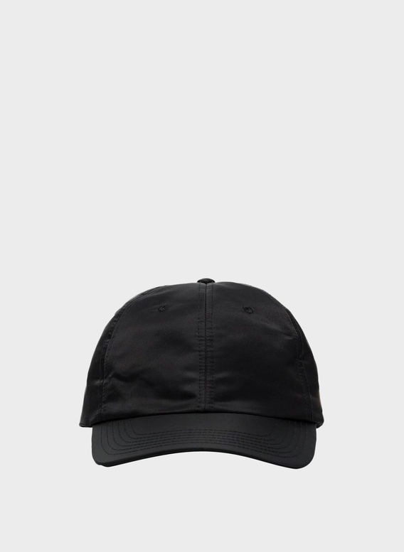 CAPPELLO BASEBALL HAT NYLON, BLACK, medium
