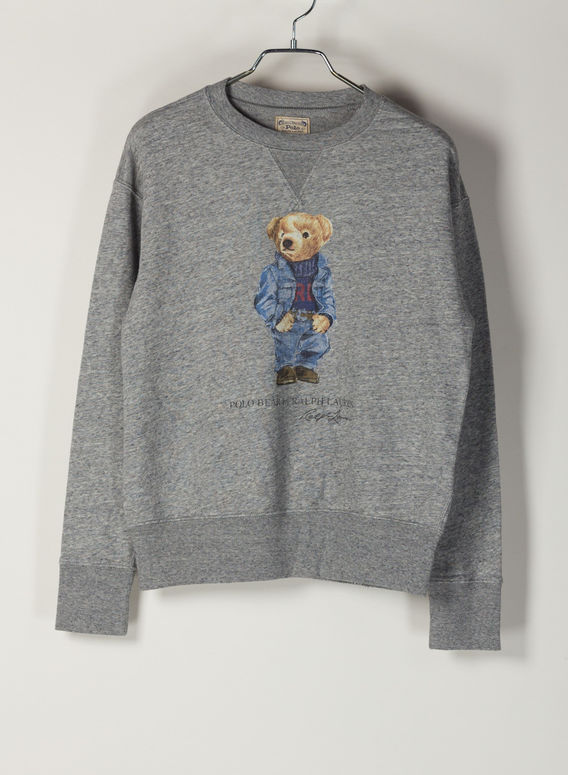FELPA STAMPA BEAR, DARKVINTAGEHEATHER, medium