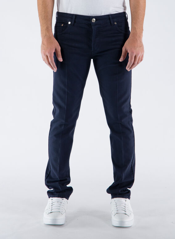 JEANS 5 TK DENIM LUNGO, 4017BLUAVION, medium