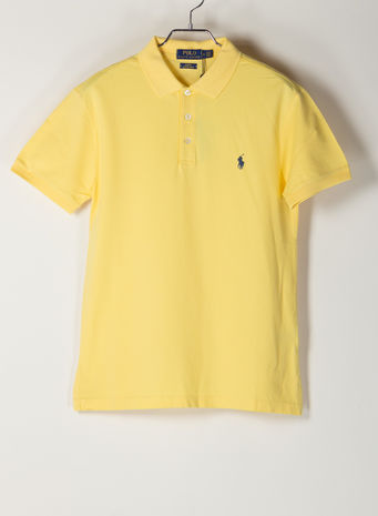 POLO A MANICHE CORTE, EMPIREYELLOWC7952, small