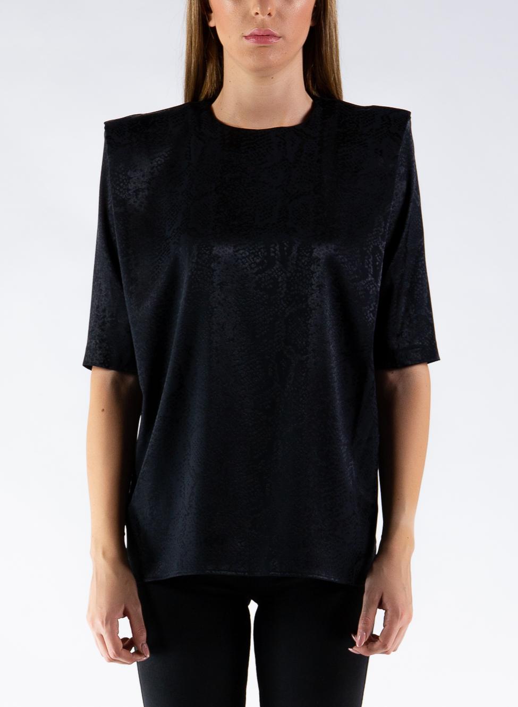 T-SHIRT LIBRA, BLACK, large